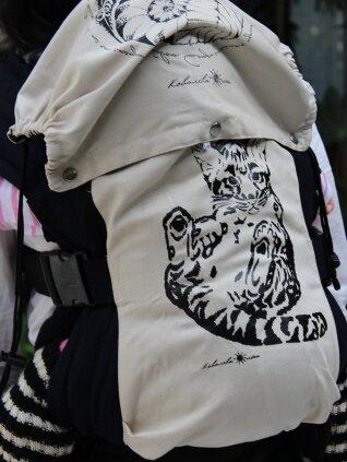 Эргономичный рюкзак снежный барс
