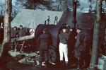 1941-09-26 Немецкий kenttsairaalan для стирки. / Saksal. hyrykaappeja одежда внешеторговые. Примечание: Vrikuvien Брошюра информации. Изображение двух различных копий, с даты, отмеченной октября 1941 года. Место: Алакуртти (Salla)