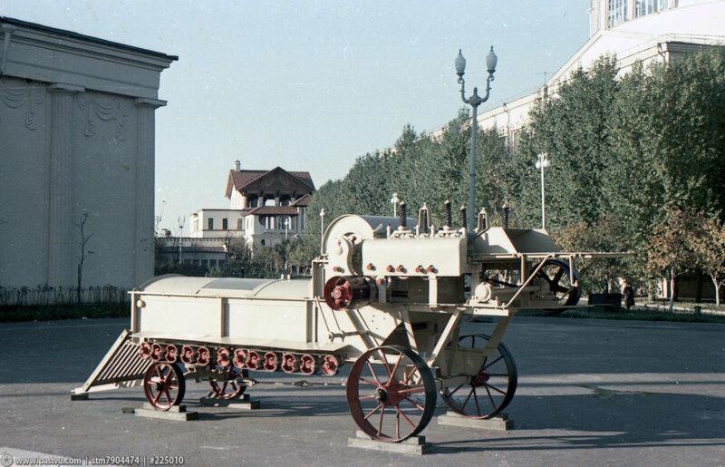 Куделеприготовительная машина с трясилкой. Седов Ю. Ф.,  1954.jpg