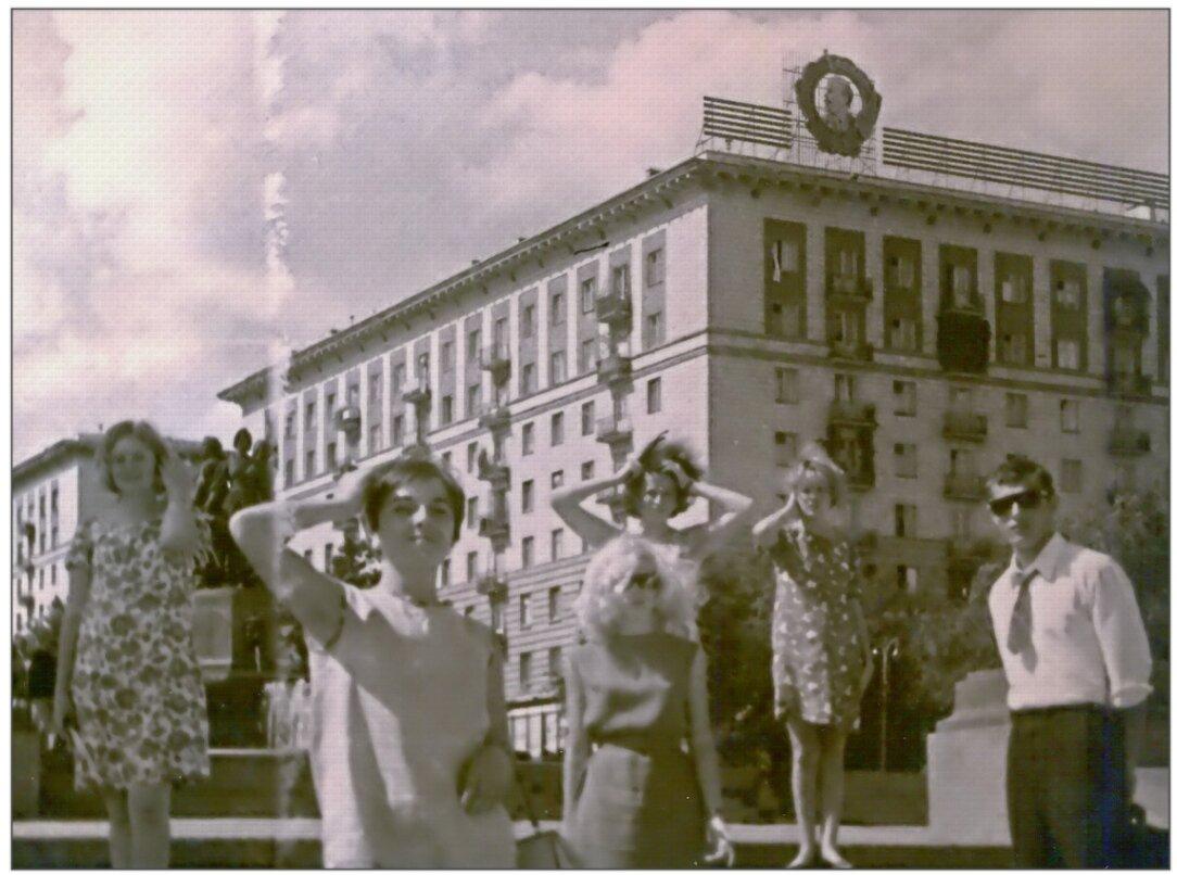 1968. По Волгограду