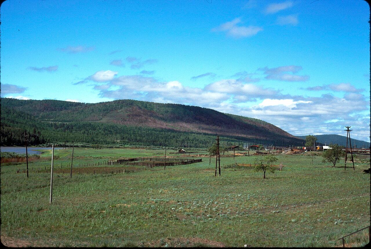 Восточная Сибирь. В 100 км к востоку от Читы
