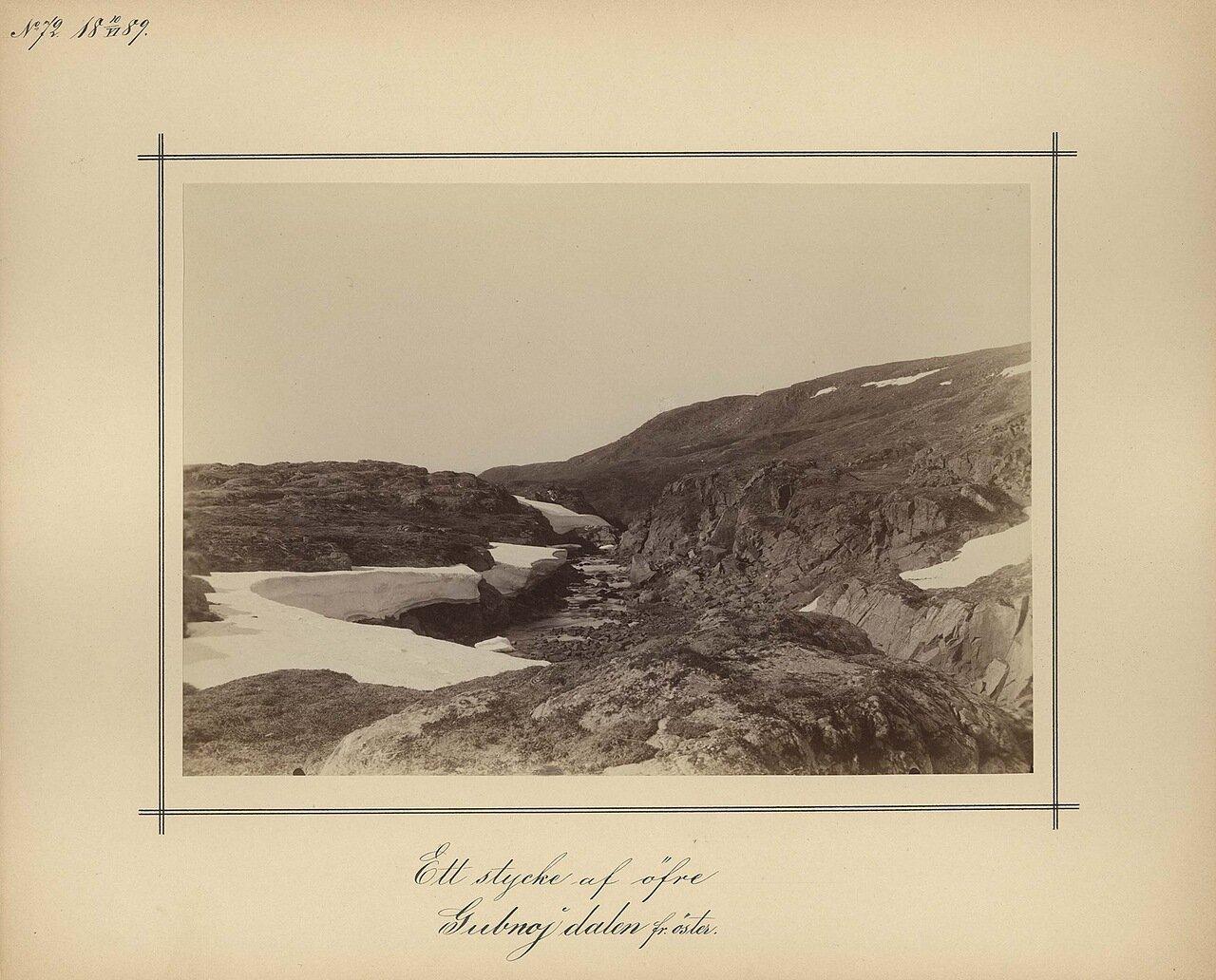 10.7.1889. Верхняя часть Восточного залива Gubnoj