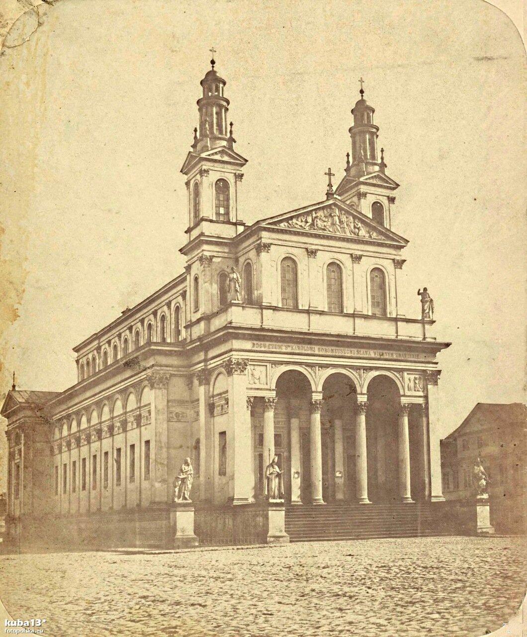 Церковь Карла Борромеро. 1875