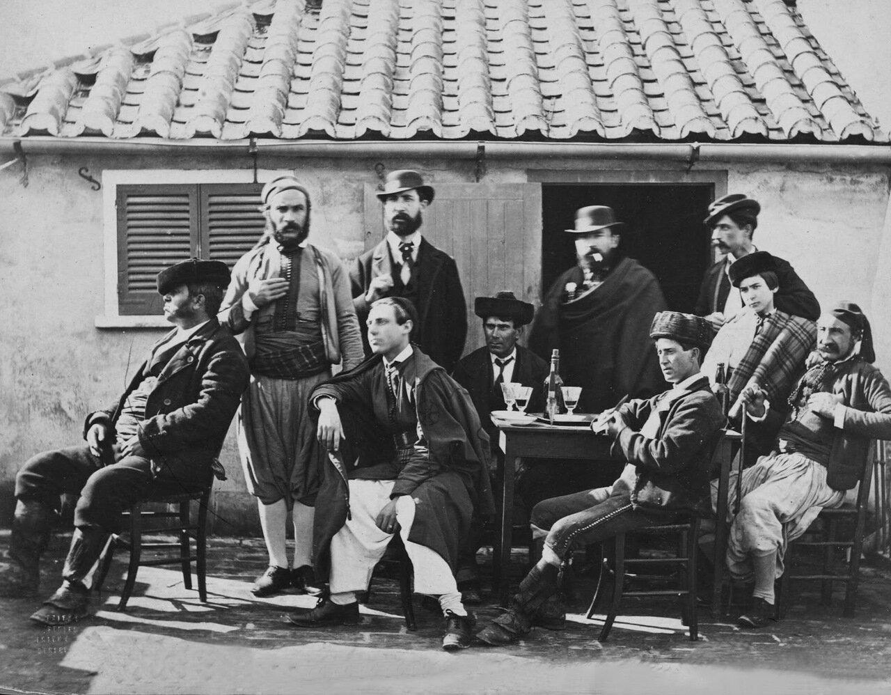 1850. Испанский трактир в Гибралтаре