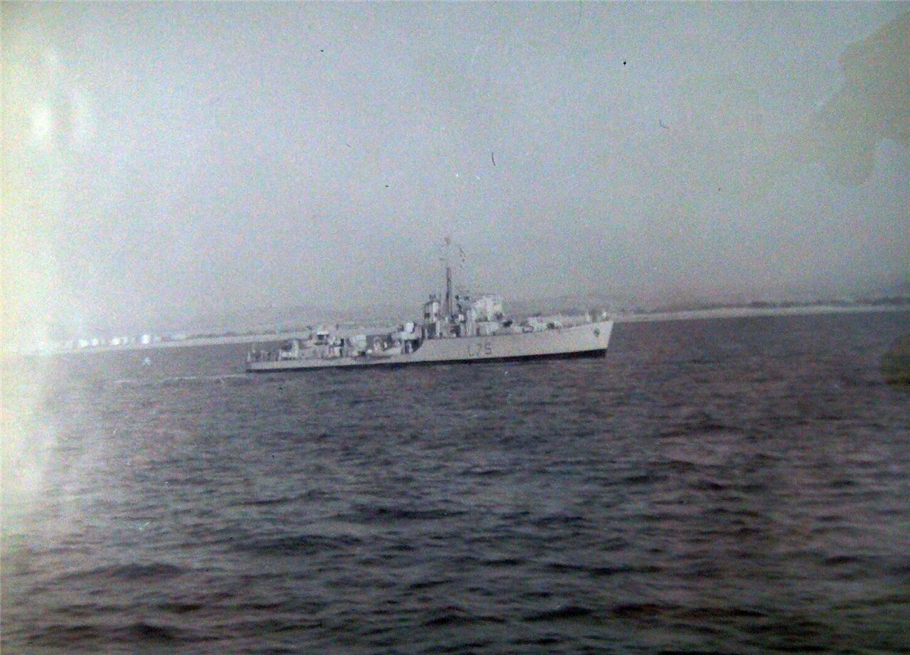 Корабль в Хайфском заливе
