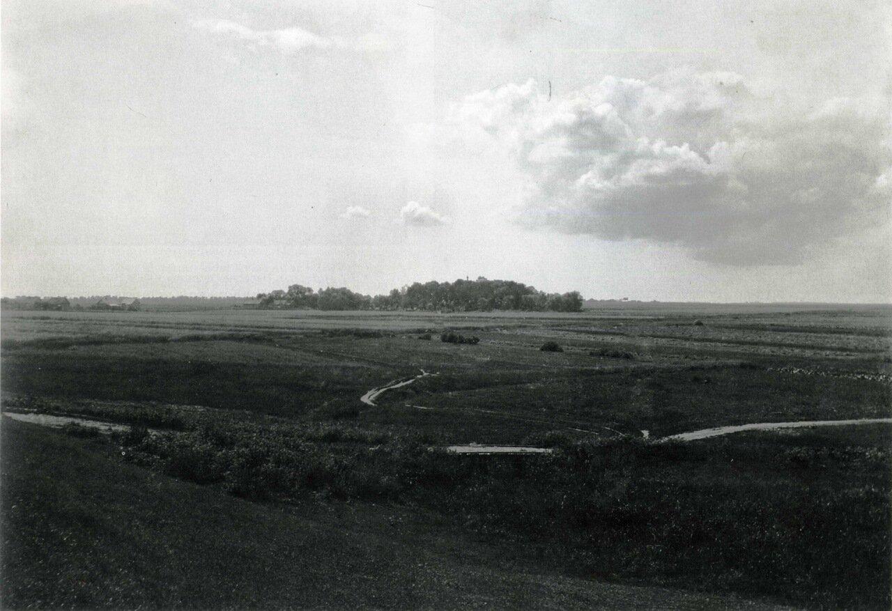 Вид на Петропавловское кладбище на Синичьей горе