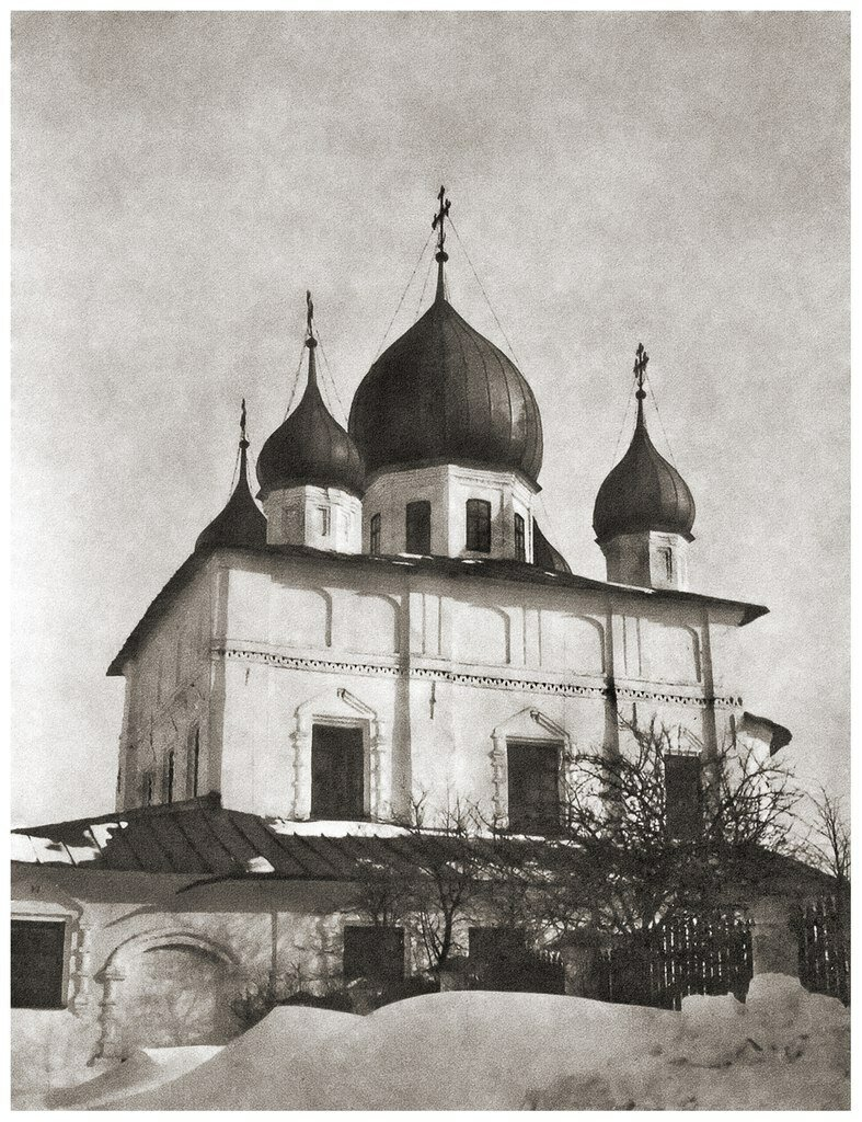 Кириллов монастырь.Собор Кирилла и Афанасия Александрийских