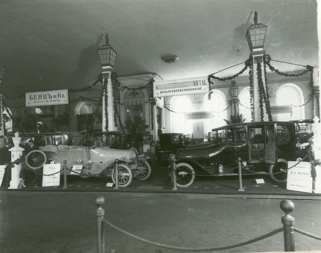 36. Часть выставочного зала - экспонаты фирмы Германии