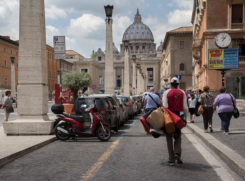 На Ватикан...