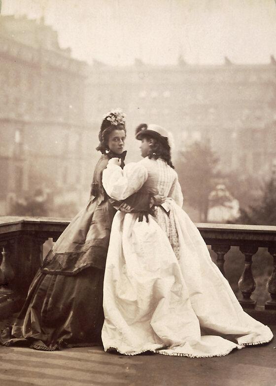 Женское платье в xix веке