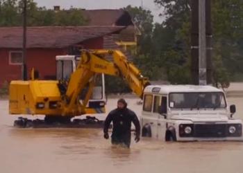 Крупнейшее наводнение в Сербии; Погибло 4 человека