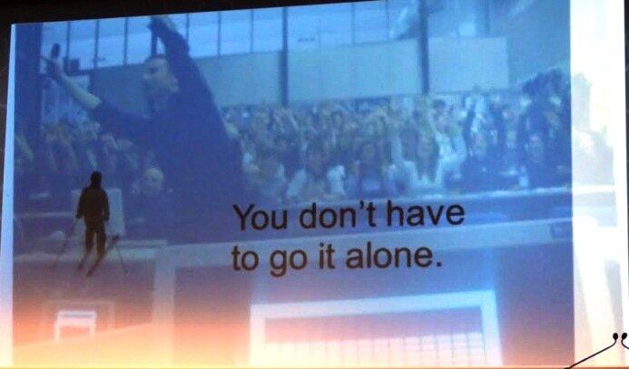 В одиночку – делать это должна целая