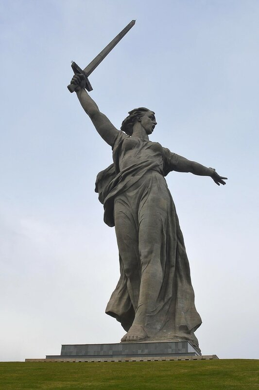 Волгоград, Мамаев курган.
