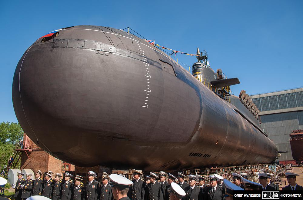 самая современная лодка россии