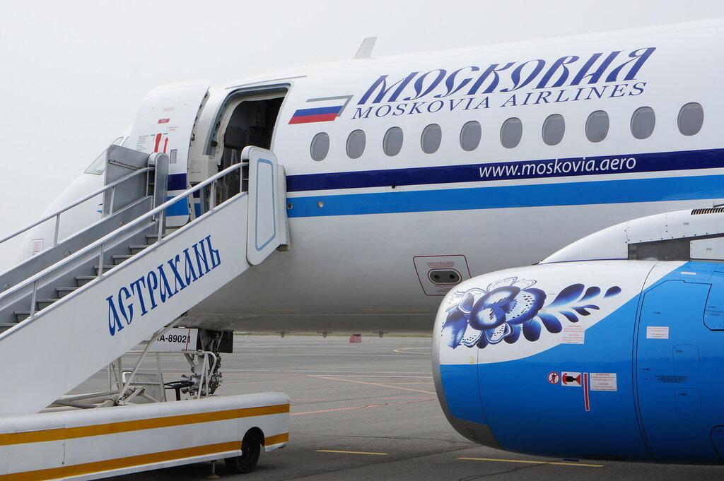 Московия снаружи: Сухой Суперджет в Астрахани