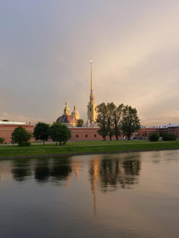 Вечер в Петропавловской крепости