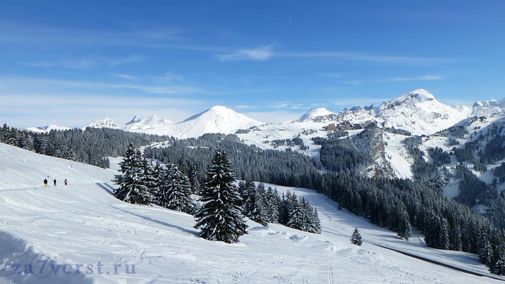Горно-лыжный курорт Авориаз, Франция