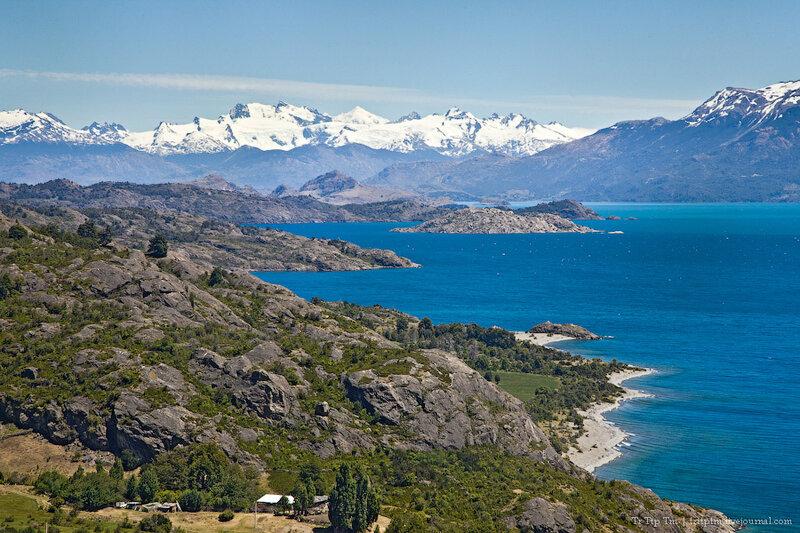 1. Лазурь и мрамор озера Буэнос Айрес - Хенераль Каррера.