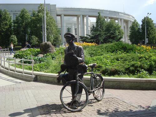 Отдых в Беларуссии: Минск, Площадь Академии наук