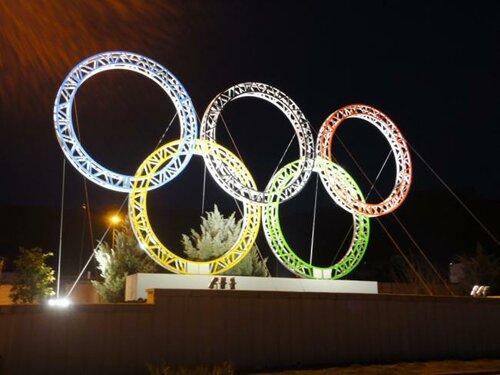 Светодиодное освещение Олимпиады-2014 в Сочи