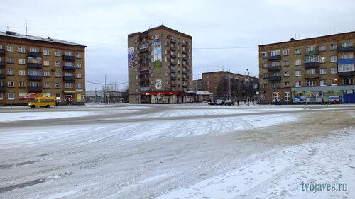 Фото города Инта №6225  Кирова 31, Горького 1, 1а, 3 и Бабушкина 1 10.11.2013_14:16