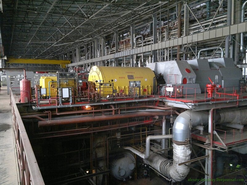 Турбинный цех ТЭЦ-2