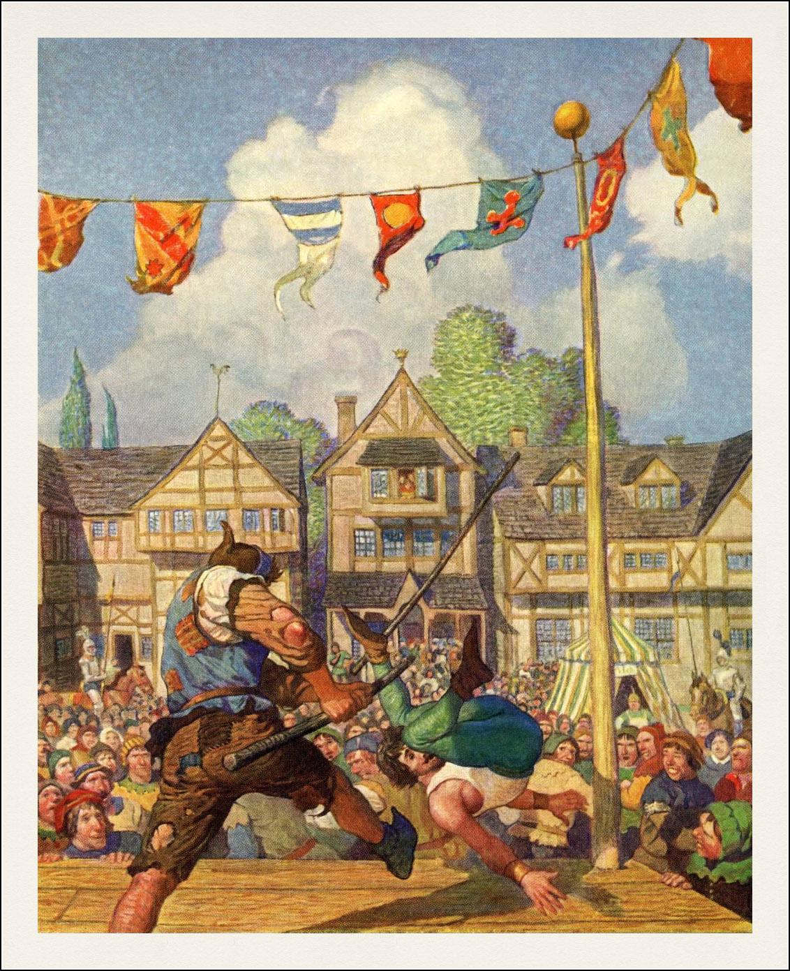 N.C. Wyeth. Robin Hood