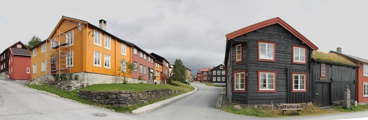 Рёрус (Røros)e, panorama