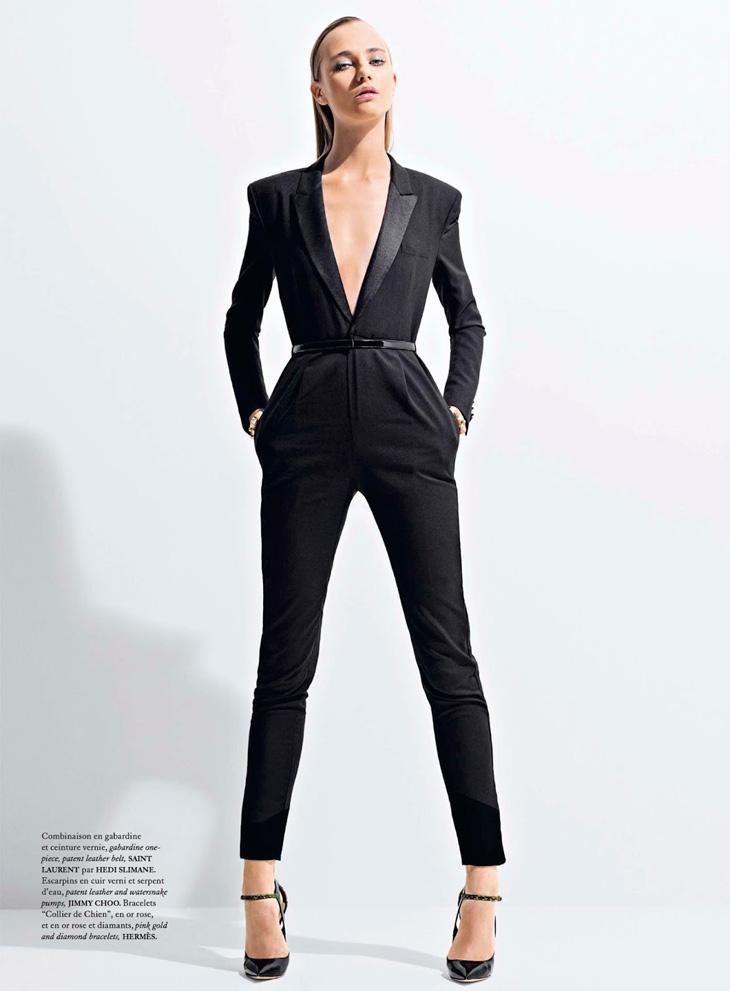Александра Тикерпуу в майском номере Air France Madame
