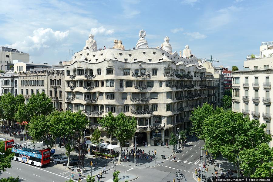 Фотографии Барселоны с высоты