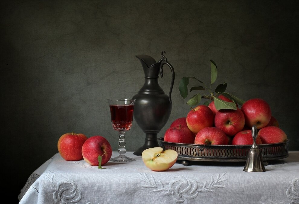 Аромат осенних яблок