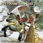 Xmas Time Gold №3