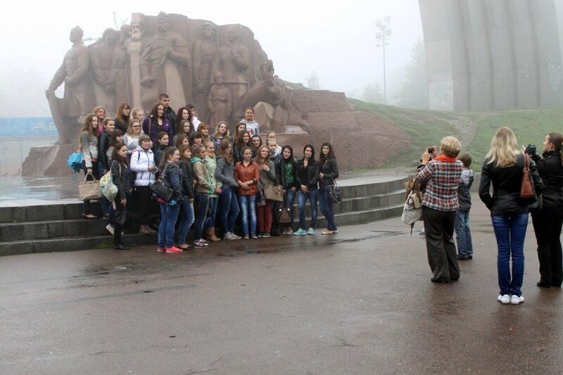 Фото на память о Киеве