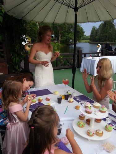 мастер-класс на свадьбе