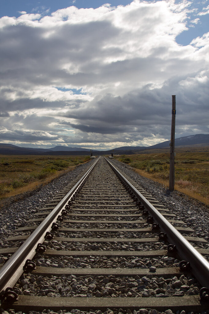 Железная дорога в Норвегии