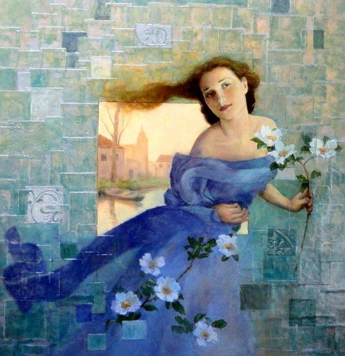 Есть женщина-цветок. Свой выбери и ты поймешь! Francois Fressinier