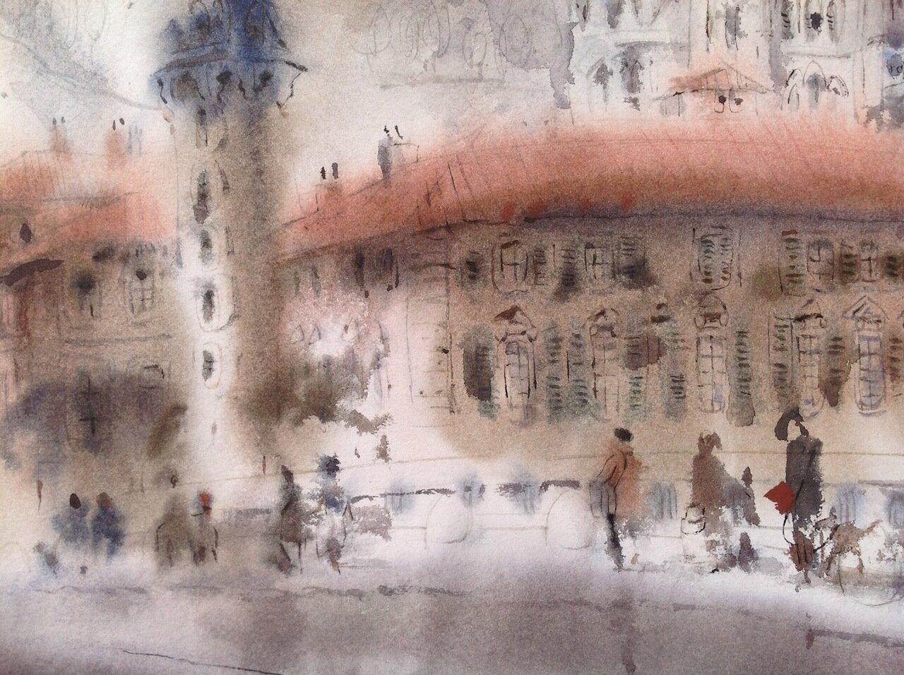 012. Fragment.  (Lyon. Pont Bonaparte)