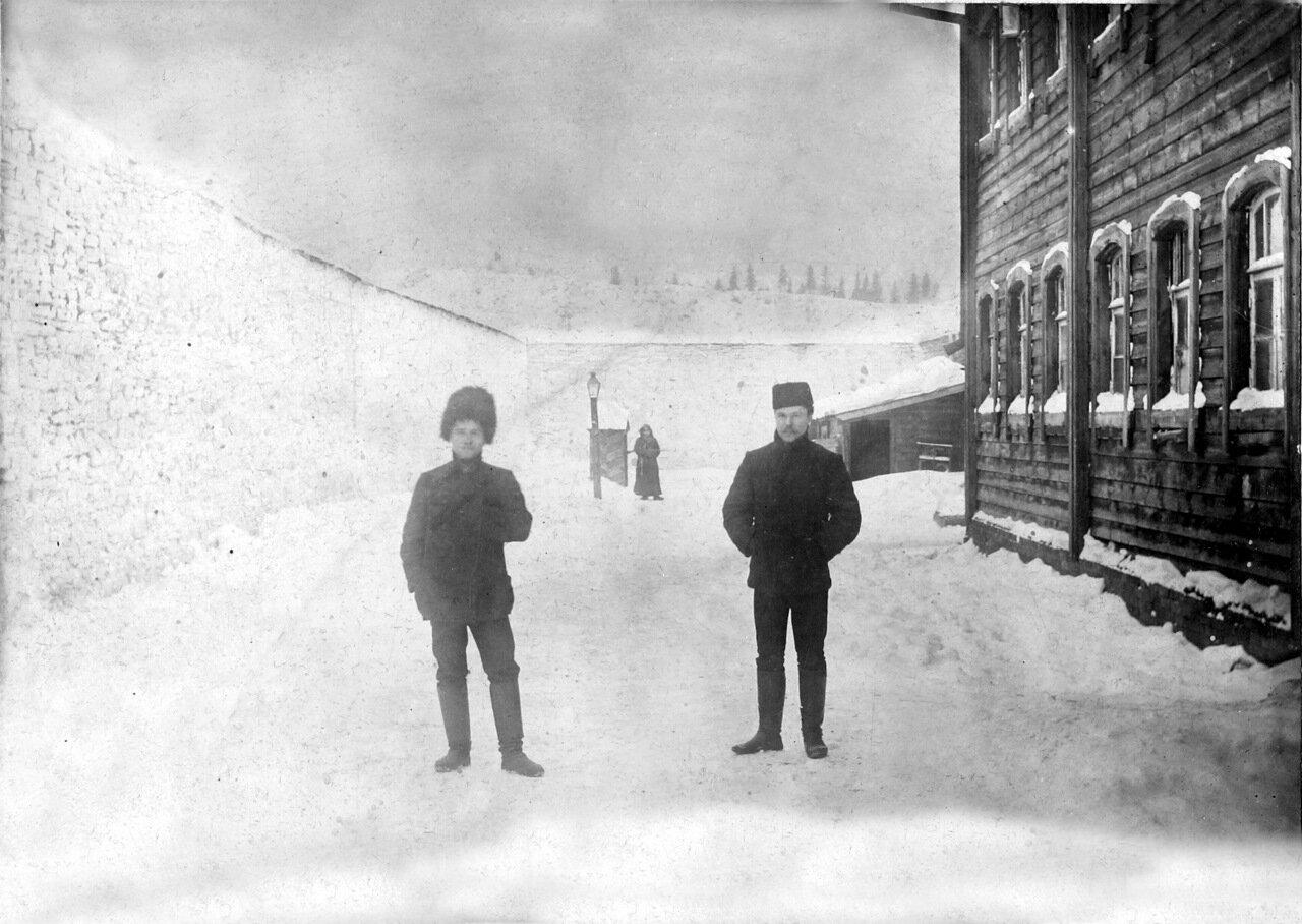 1907 г. Двор в Тюремном замке.