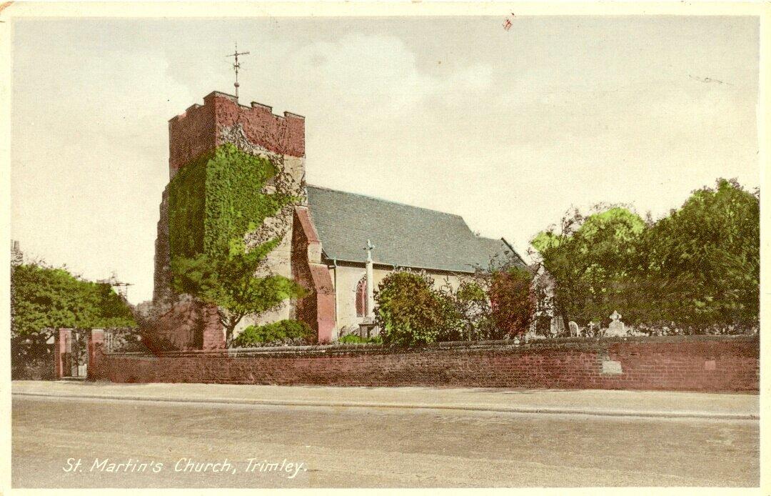 Церковь Святого Мартина, Тримли. 1930