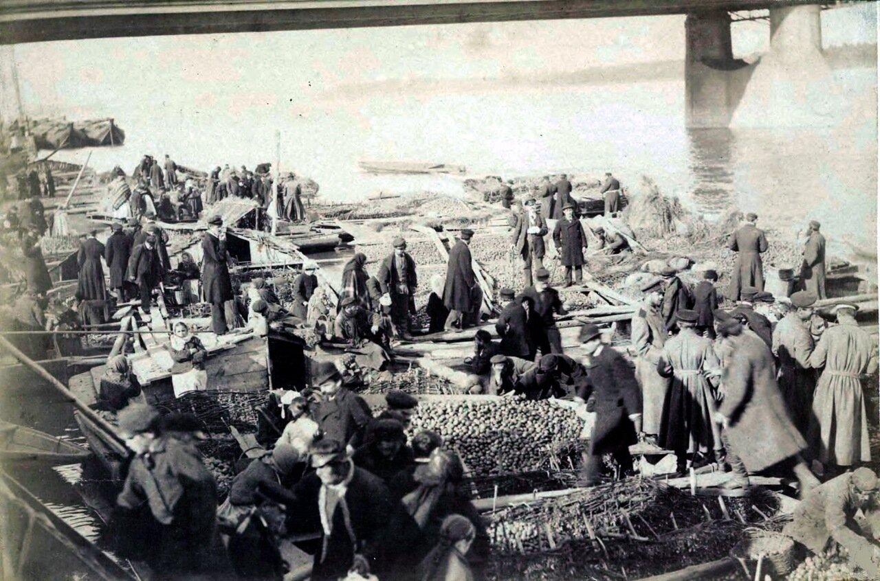 1865. Рынок возле Александровского моста