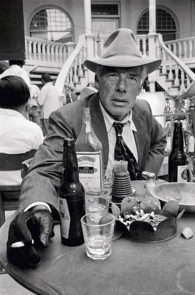 1971. Ли Марвин на съемках фильма «Карманные деньги». Таксон, Аризона