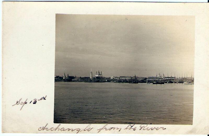 1917. Панорама Архангельска