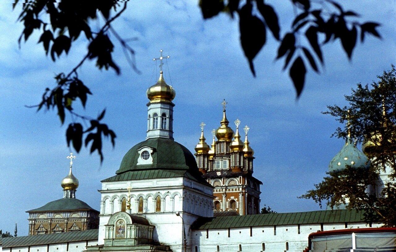 Загорск 1970-е. 1. Золотые купола