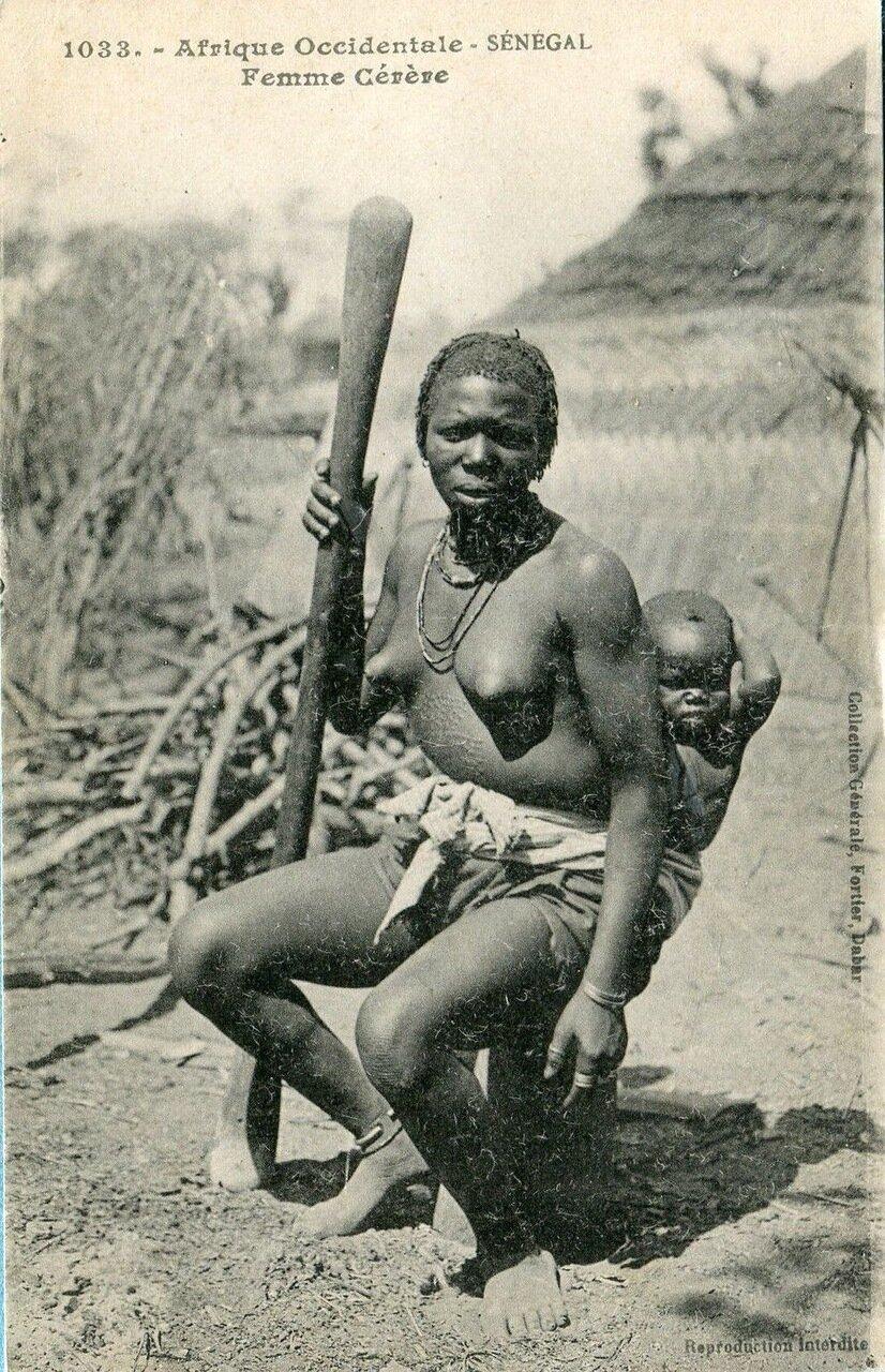 Женщина из племени гереро. Сенегал