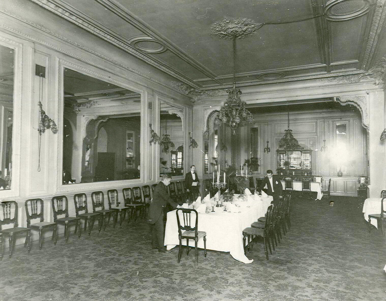 Банкетный зал ресторана