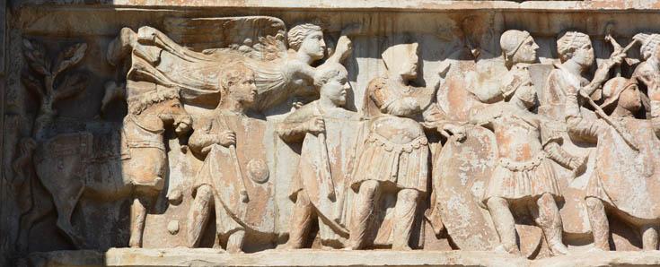 Арка Константина, Рим
