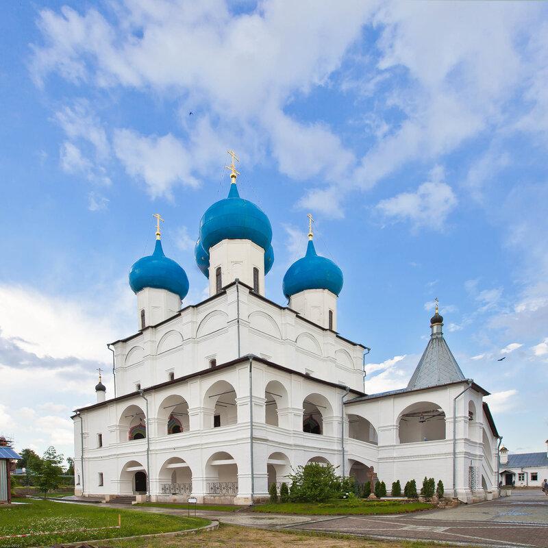 Собор Зачатия Пресвятой Богородицы Высоцкого монастыря