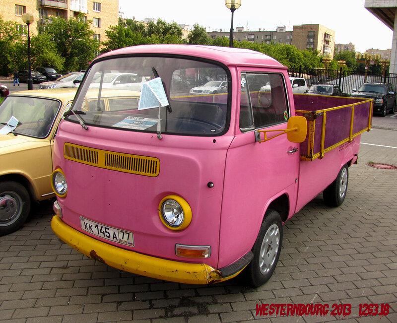1263.18 Розовый грузовик
