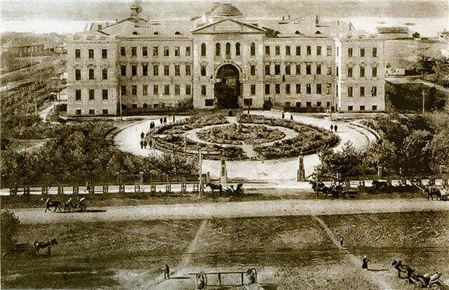 Здание судебных установлений, Омск