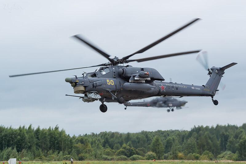 Миль Ми-28Н (RF-91104 / 50 жёлтый) D801792